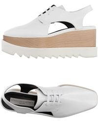 Stella McCartney Lace-up Shoe - White
