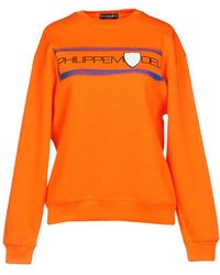 Philippe Model Sweatshirts - Orange