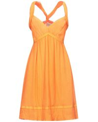 Trussardi Knee-length Dress - Orange