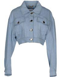 Moschino - Denim Outerwear - Lyst