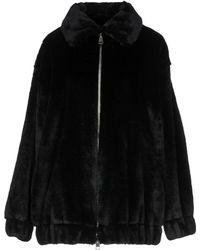 Ainea Faux Fur - Black