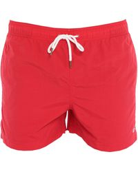 Sun 68 Swim Trunks - Red
