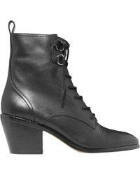 Diane von Furstenberg Ankle Boots - Black