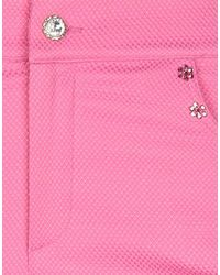 Ean 13 Cropped Trousers - Pink