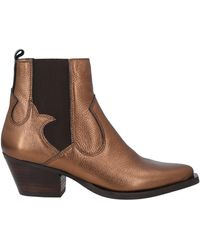 Kanna Ankle Boots - Brown