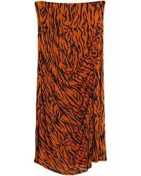 Diane von Furstenberg Long Skirt - Brown