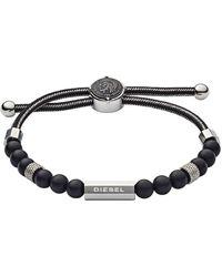 DIESEL Armband - Schwarz