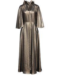 Celine Vestido largo - Metálico