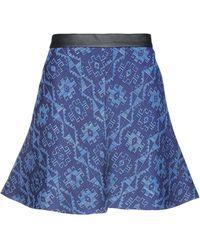 Les Copains Minifalda - Azul