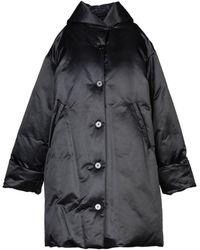 MM6 by Maison Martin Margiela Down Jacket - Black