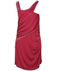 CoSTUME NATIONAL Short Dress - Red