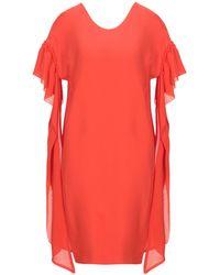 Annarita N. Short Dress - Red
