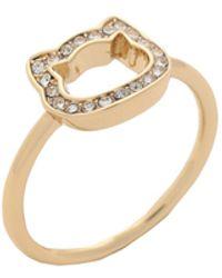 Karl Lagerfeld Ring - Metallic