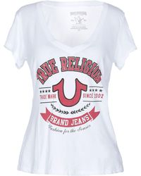 True Religion Camiseta - Blanco
