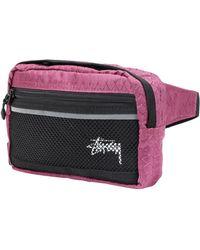 Stussy Backpacks & Bum Bags - Purple