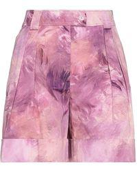 Moschino Bermuda Shorts - Purple