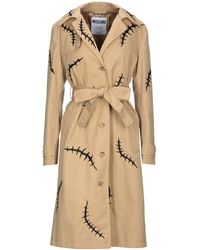 Moschino Overcoat - Natural