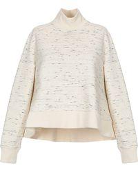 Jil Sander Navy Sweatshirt - White