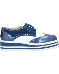 Baldinini Lace-up Shoe - Blue