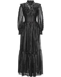 Frankie Morello Long Dress - Black