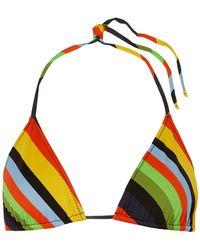 Ganni Bikini Top - Yellow