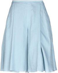 Emporio Armani Midi Skirt - Blue