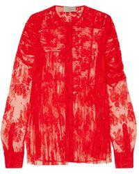 Preen By Thornton Bregazzi Blusa - Rojo