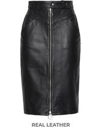 8 by YOOX Midi Skirt - Black