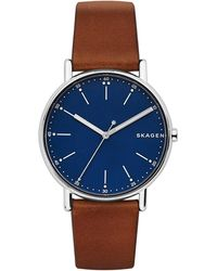 Skagen Armbanduhr - Blau
