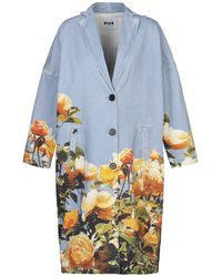 MSGM Coat - Blue