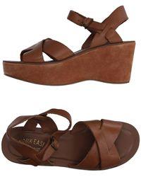 Kork-Ease Sandals - Brown