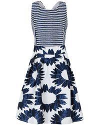 Carla Montanarini Knee-length Dress - Blue
