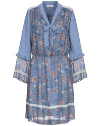 Blugirl Blumarine Robe courte - Bleu