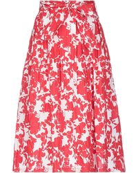 Anonyme Designers 3/4 Length Skirt - Red