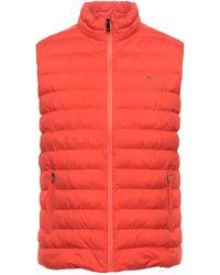 Hackett Down Jacket - Orange