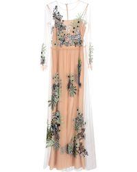 Alberta Ferretti Long Dress - Pink