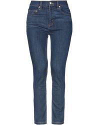 Marc By Marc Jacobs Denim Trousers - Blue