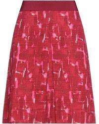 Paule Ka Midi Skirt - Red