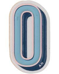 Anya Hindmarch 'o' Sticker - Blue