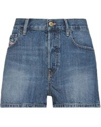 DIESEL Shorts jeans - Blu