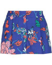 Diane von Furstenberg Pantalones cortos y bermudas - Azul