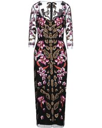 Temperley London Long Dress - Black