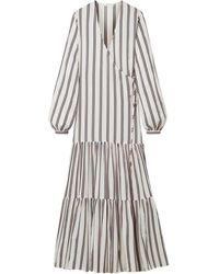 Matin Long Dress - Gray
