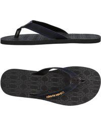Roberto Cavalli - Toe Strap Sandals - Lyst