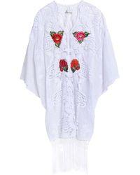 Miguelina Strandkleid - Weiß