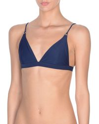 Acne Studios Bikini Top - Blue