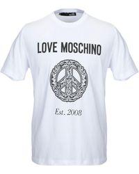 Love Moschino Camiseta - Blanco