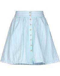 ce74cc335c Dries Van Noten Mini Skirt in White - Lyst