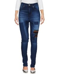 5preview - Denim Trousers - Lyst