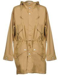 Stella McCartney Overcoat - Natural